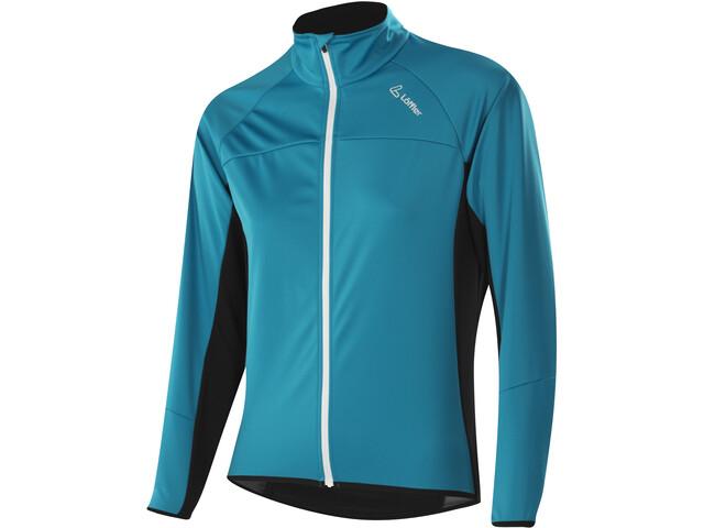 más nuevo mejor calificado últimas tendencias de 2019 estilo limitado Löffler Alpha Windstopper Light Chaqueta Ciclismo Mujer, topaz blue